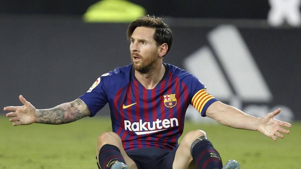 Месси спасает «Барселону» от еще большего падения