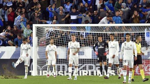 «Реал» проиграл три из четырех последних матчей, ни разу не забив