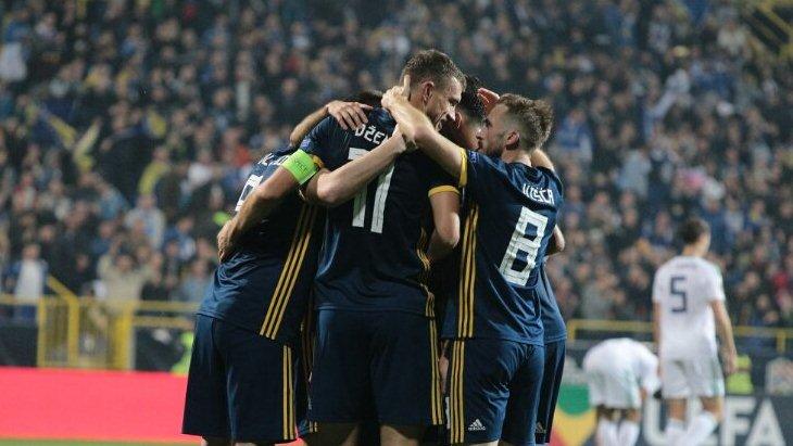 Игроки Боснии и Герцеговины