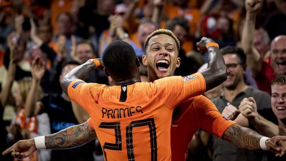 Нидерланды не оставили шансов Германии