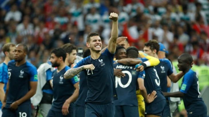 Французы сумели переломить ход игры