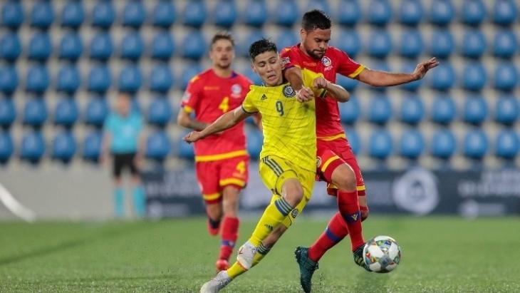 Казахстан забил четыре гола