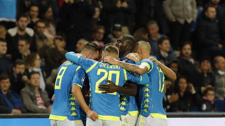 «Наполи» на последних минутах не удержал победу в Париже