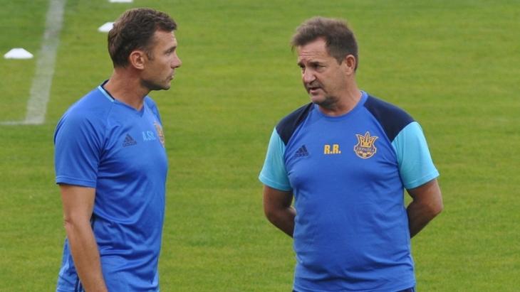 Андрей Шевченко и Рауль Рианчо