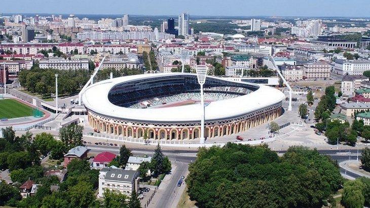 Стадион в Минске
