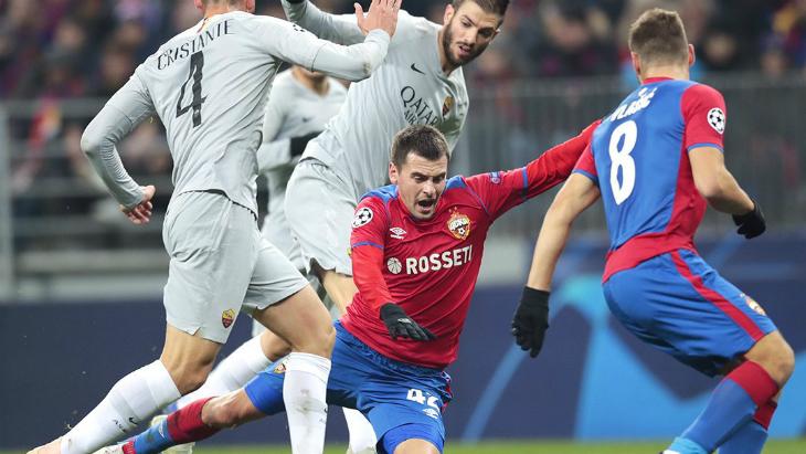 ЦСКА — «Рома»