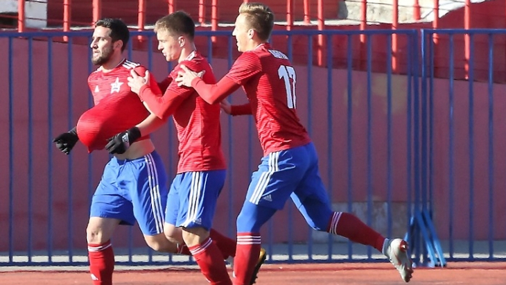 Футболисты «СКА-Хабаровск»