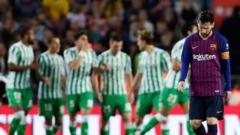 «Барселоне» не помогло возвращение Месси