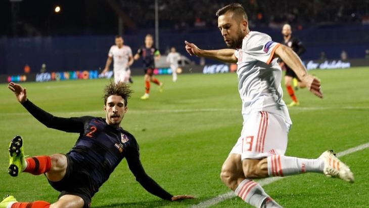 Хорваты взяли реванш
