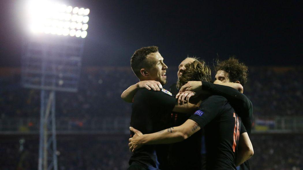 Хорватия перевернула ситуацию в группе