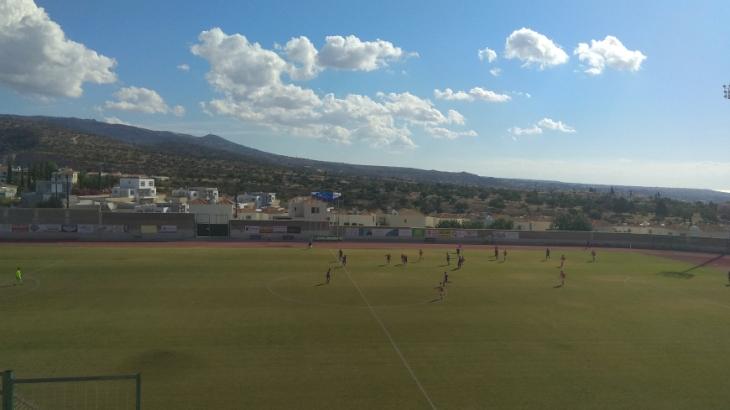 Игра проходила в Пафосе