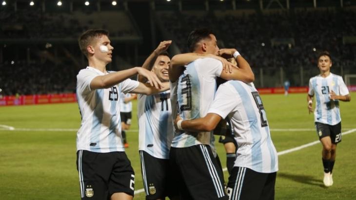 Аргентинцы забили дважды
