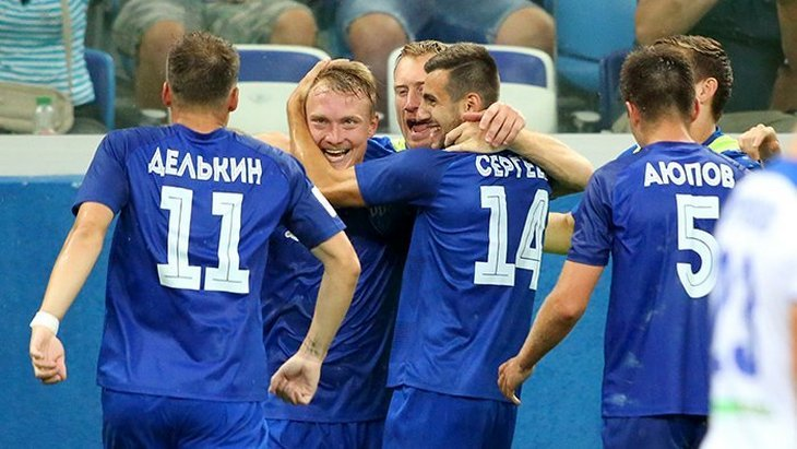Футболисты «Нижнего Новгорода»