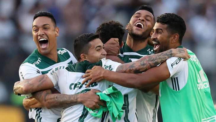 Футболисты «Палмейраса»