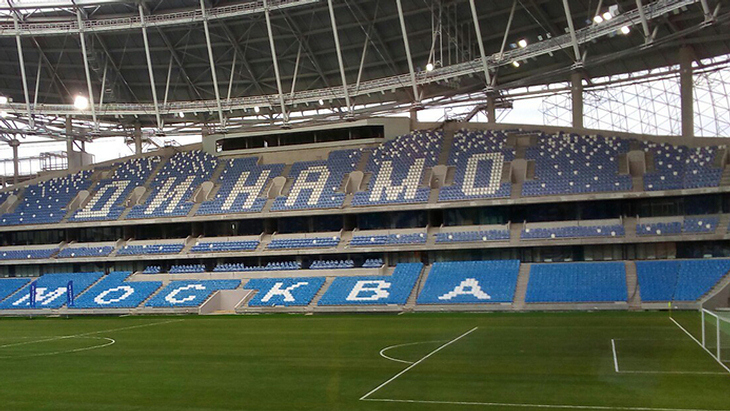 Завершена реконструкция стадиона «Динамо»