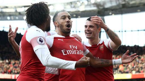 Футболисты «Арсенала»