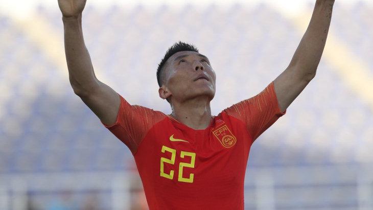 Китай одержал волевую победу над Киргизией на Кубке Азии