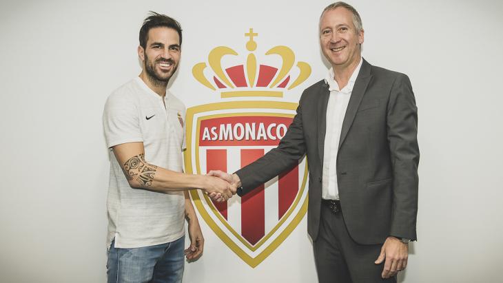 Сеск Фабрегас — новичок «Монако»