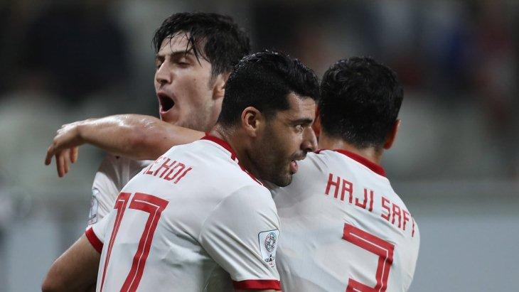 Игроки сборной Ирана