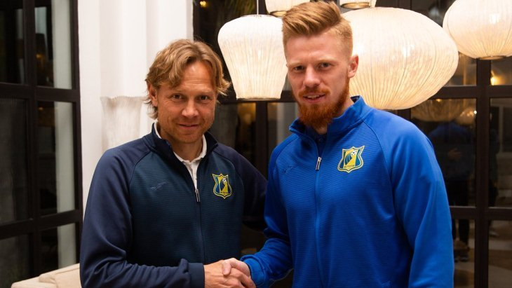Валерий Карпин и Иван Новосельцев