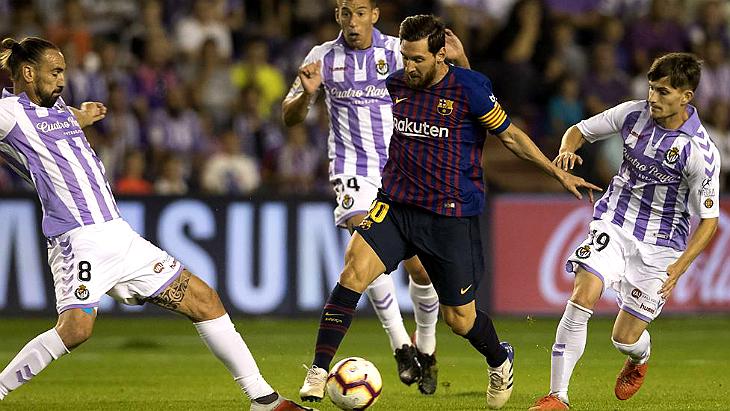 «Барселона» — «Вальядолид»