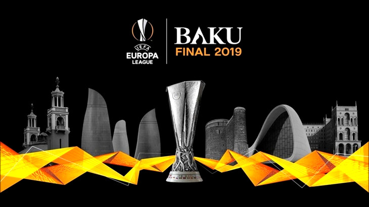 Лига Европы, постер финала в Баку — 29 мая 2019 года