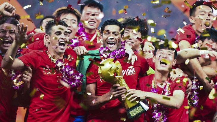 Халк и Оскар привели к «Шанхай СИПГ» к чемпионству в 2018-м году