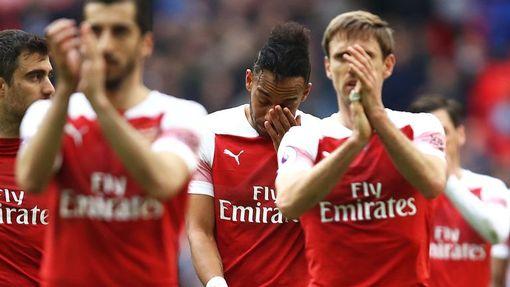 «Арсенал» едва не обыграл «Тоттенхэм»