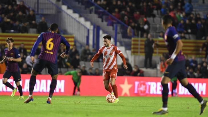 «Жирона» обыграла резервистов «Барселоны»