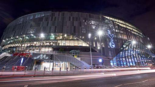 Общий вид на новый стадион «Тоттенхэма»