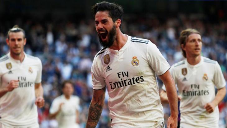 Иско сыграл в основе «Реала» впервые с октября