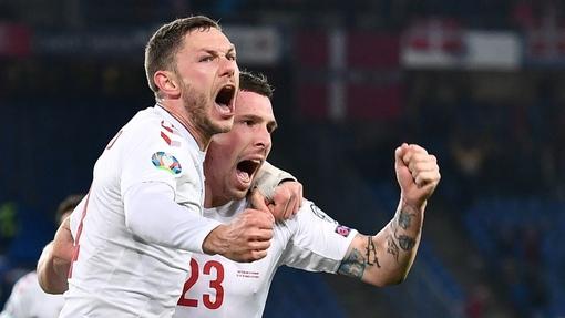 Дания организовала камбэк за девять минут концовки матча