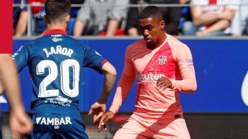 «Уэска» — «Барселона»