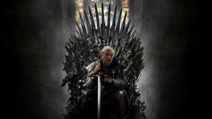 Рой Ходжсон на Железном троне
