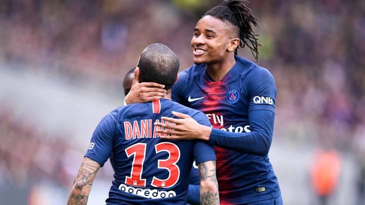 Футболисты «Пари Сен-Жермен»