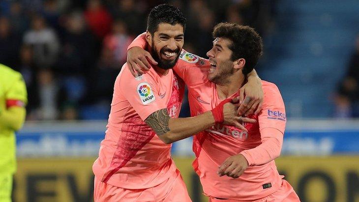 Радость «Барселоны»