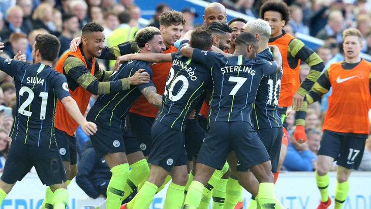 «Манчестер Сити» — чемпион Англии сезона-2018/19
