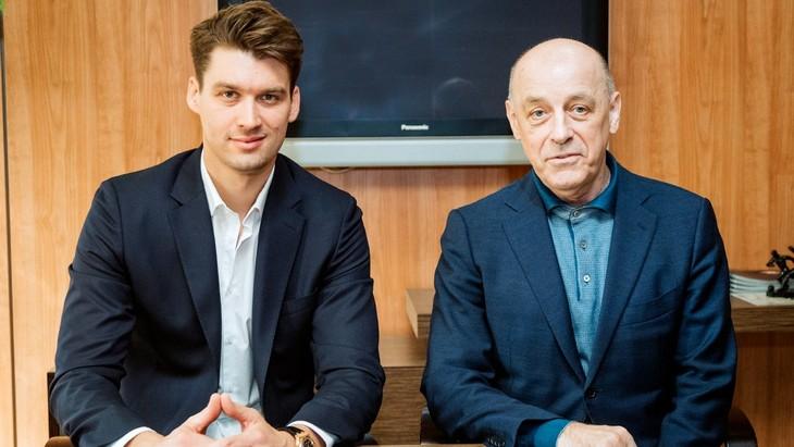 Томас Цорн и Сергей Михайлов