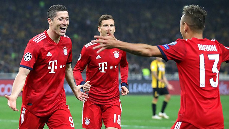 Футболисты «Баварии»