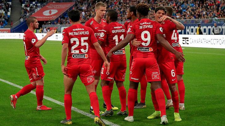 «Спартак» не теряет надежду пробиться в Лигу чемпионов