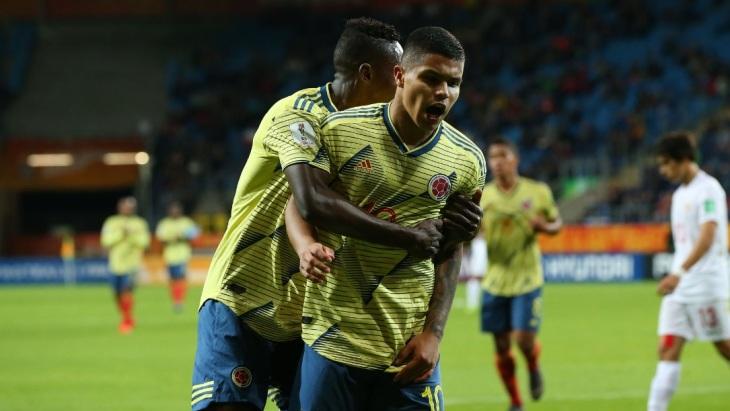 Колумбия забила шесть голов