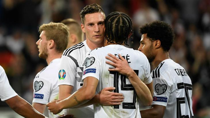 Германия забила 8 мячей сборной Эстонии