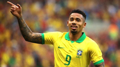 Габриэл Жезус может стать главным форвардом Бразилии в отсутствие Неймара