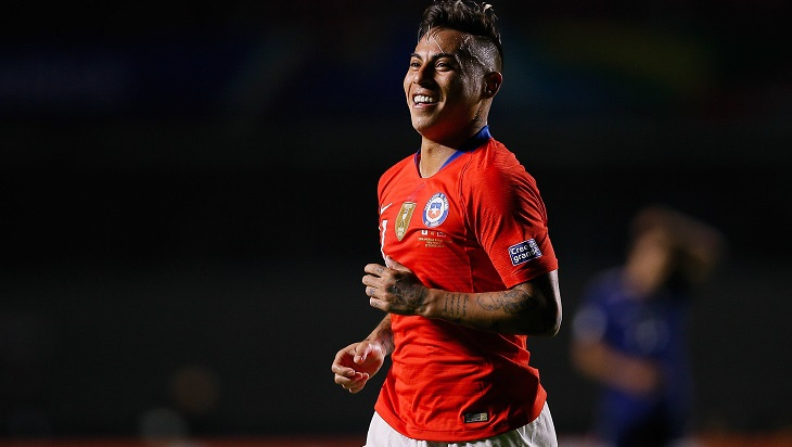 Варгас стал вторым бомбардиром в истории сборной Чили