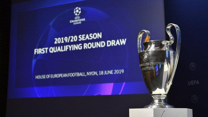 Итоги жеребьевки первого отборочного раунда Лиги чемпионов