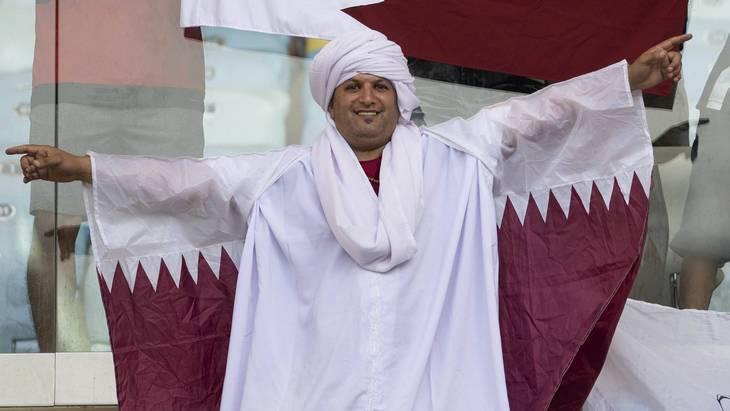 Болельщик сборной Катара