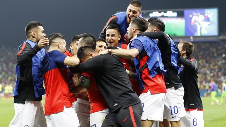 Чили заслуженно вышла в полуфинал