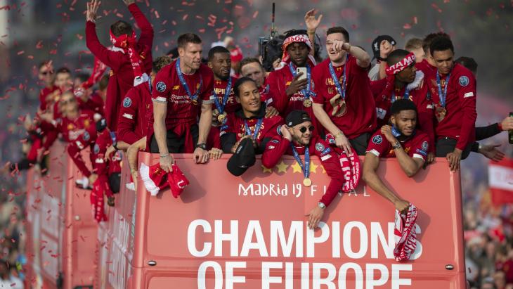 «Ливерпуль» выиграл Лигу чемпионов