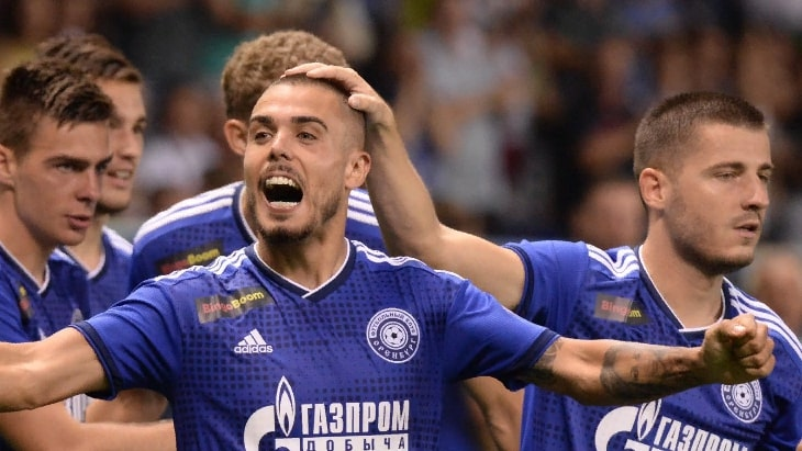 Футболисты «Оренбурга»