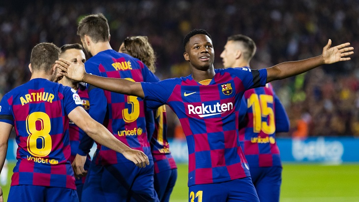 Ансу Фати снова стал героем «Барселоны»